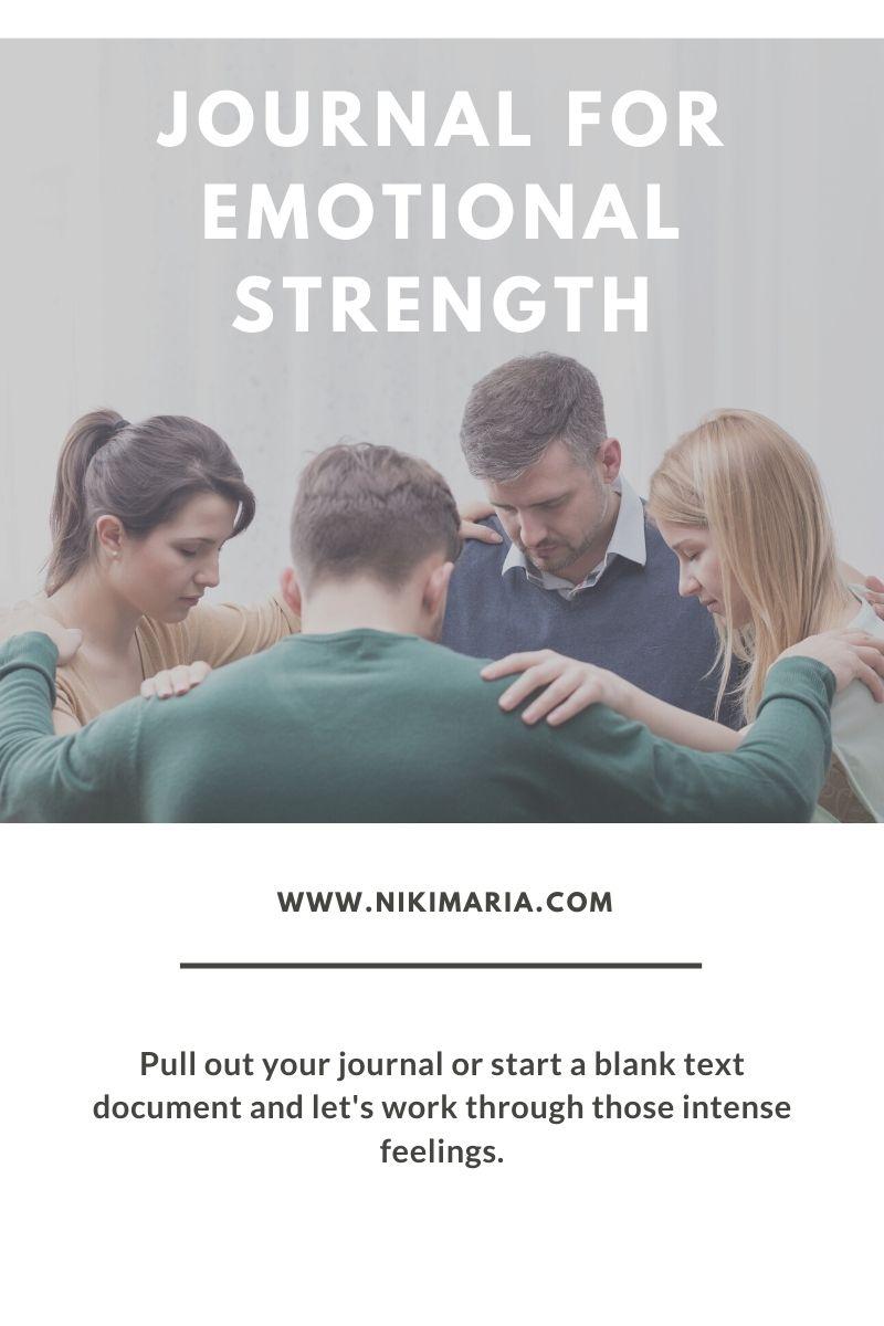 emotional strength journal